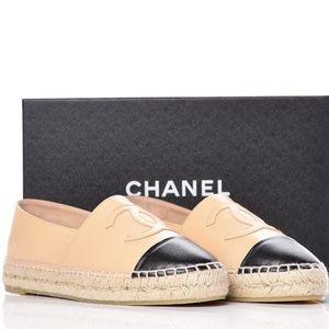 Chanel Beige Espadrilles
